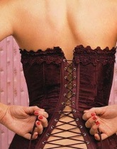 Back-lacing-corset