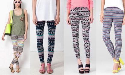 Leggins verano color
