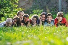 niños y naturalez